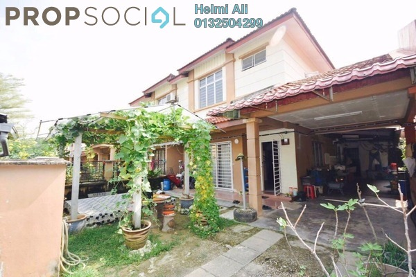 For Sale Terrace at Bandar Saujana Utama, Sungai Buloh Leasehold Semi Furnished 4R/3B 470k