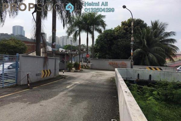 For Sale Apartment at Alpha Villa, Wangsa Maju Leasehold Semi Furnished 3R/2B 475k