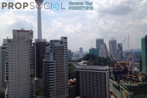 For Sale Condominium at Idaman Residence, KLCC Freehold Fully Furnished 3R/3B 1.8m