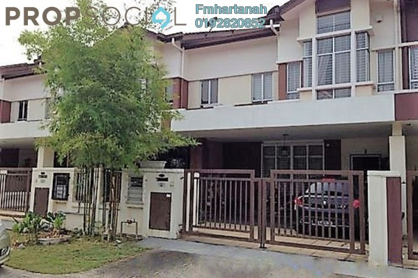 For Sale Terrace at Setia Indah, Setia Alam Freehold Unfurnished 5R/3B 845k