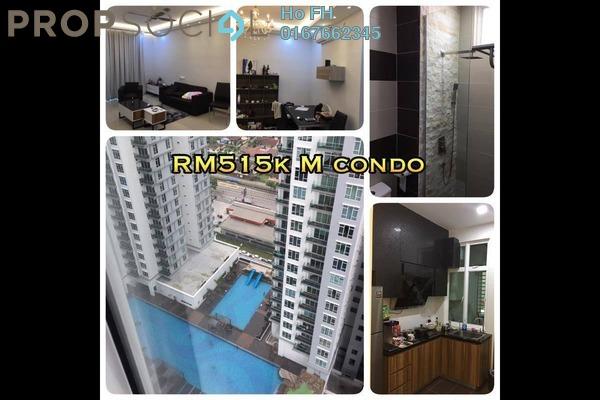 For Sale Condominium at M Condominium, Johor Bahru Leasehold Fully Furnished 3R/2B 515k
