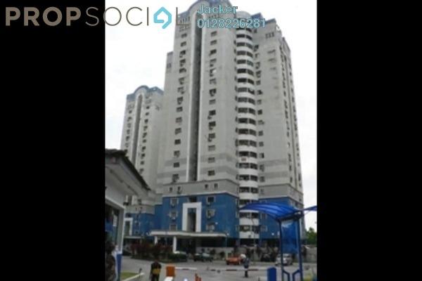 For Rent Condominium at Pandan Height, Pandan Perdana Freehold Semi Furnished 3R/2B 1.2k