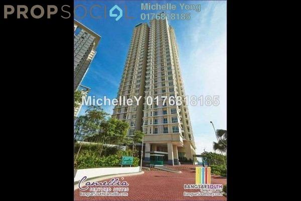 For Sale Condominium at Camellia, Bangsar South Leasehold Semi Furnished 3R/2B 1.05m