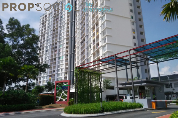 For Rent Condominium at Suasana Lumayan, Bandar Sri Permaisuri Leasehold Semi Furnished 3R/2B 2k