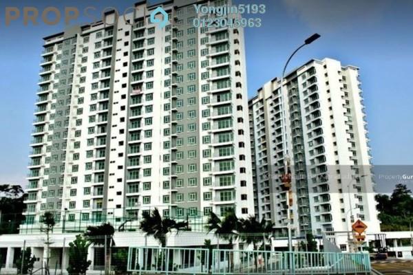 For Rent Condominium at Tasik Heights Apartment, Bandar Tasik Selatan Leasehold Unfurnished 3R/2B 1.2k
