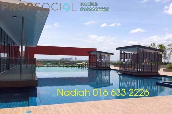 For Rent Condominium at D'Aman Residences, Puchong Leasehold Semi Furnished 3R/2B 1.2k