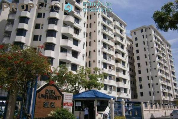 For Rent Condominium at Desa University, Sungai Dua Freehold Fully Furnished 3R/2B 1.4k
