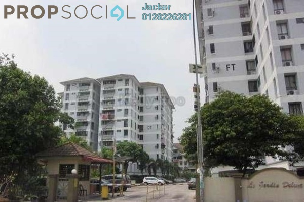 For Rent Condominium at Le Jardine, Pandan Indah Freehold Unfurnished 3R/2B 1.4k