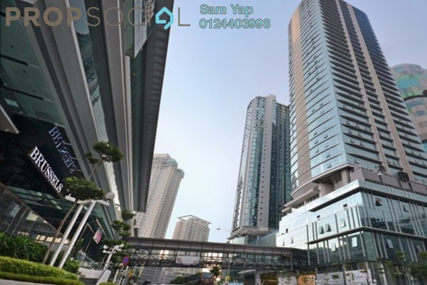 For Rent Office at The Vertical, Bangsar South Leasehold Unfurnished 0R/2B 4k