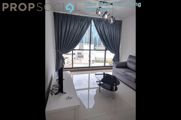 For Rent Serviced Residence at KL Gateway, Bangsar South Leasehold Fully Furnished 2R/2B 3.3k