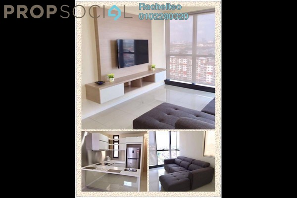For Rent Condominium at Icon City, Petaling Jaya Leasehold Fully Furnished 2R/1B 2.5k