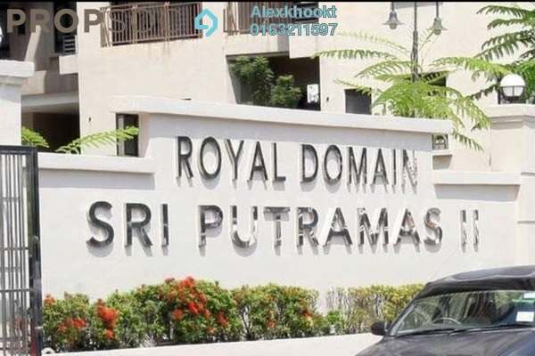 For Sale Condominium at Sri Putramas II, Dutamas Freehold Semi Furnished 3R/2B 570k
