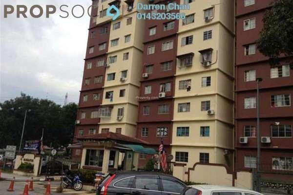 For Rent Condominium at Cemara Apartment, Bandar Sri Permaisuri Leasehold Semi Furnished 3R/2B 1.45k