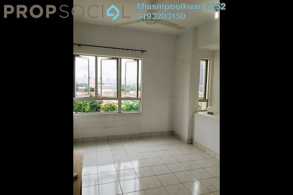 For Rent Condominium at Alpha Villa, Wangsa Maju Leasehold Semi Furnished 3R/2B 1.5k