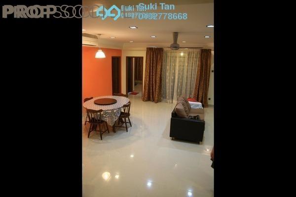 For Rent Apartment at Bukit Segambut, Segambut Freehold Semi Furnished 3R/2B 1.5k