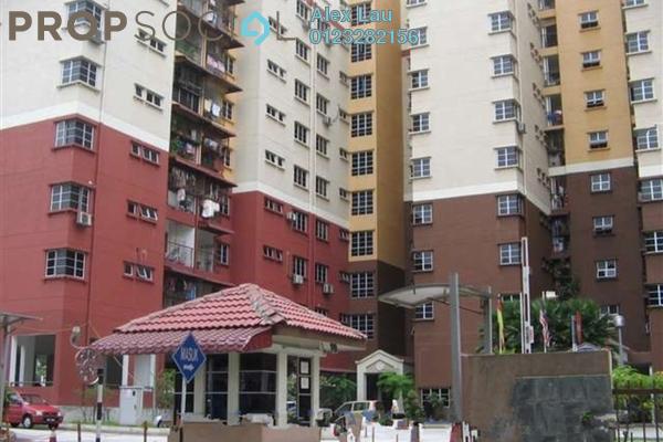 For Rent Apartment at Kelana Impian, Kelana Jaya Freehold Semi Furnished 3R/2B 1.5k