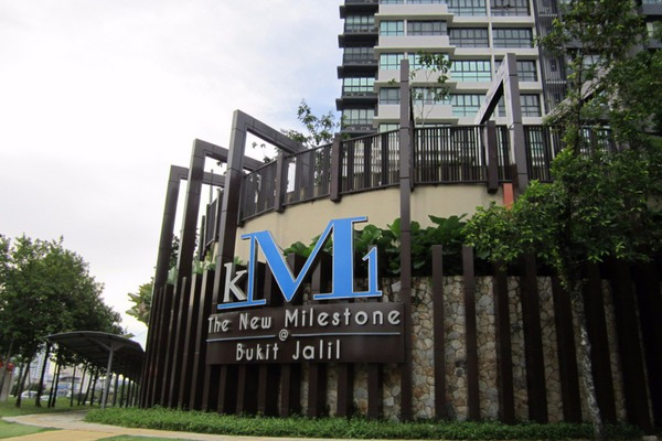 For Sale Condominium at KM1, Bukit Jalil Freehold Semi Furnished 3R/3B 1.2m