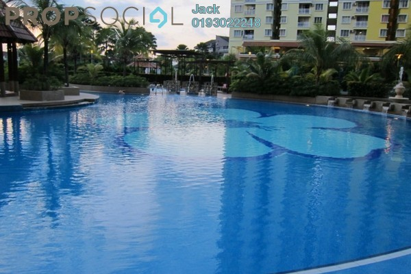 For Rent Condominium at Platinum Lake PV10, Setapak Leasehold Semi Furnished 4R/2B 2k