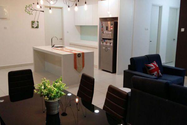For Rent Condominium at Casa Desa, Taman Desa Freehold Semi Furnished 3R/3B 3k