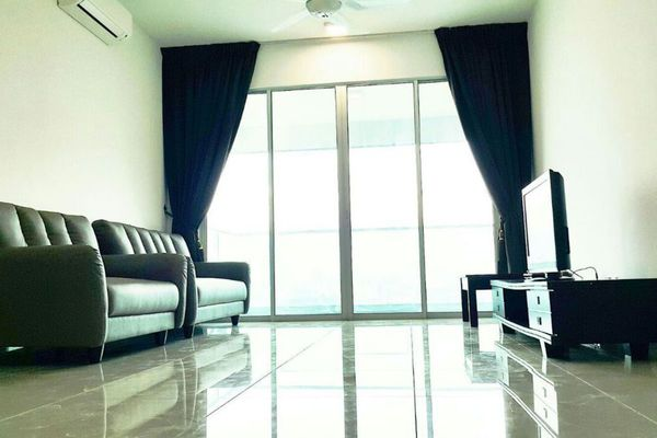 For Rent Condominium at Kiara Residence 2, Bukit Jalil Leasehold Semi Furnished 4R/3B 1.6k