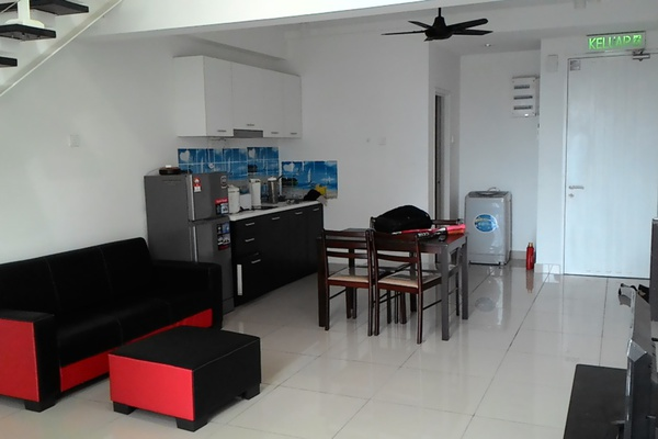 For Rent Condominium at The Scott Soho, Old Klang Road Freehold Semi Furnished 1R/2B 2k