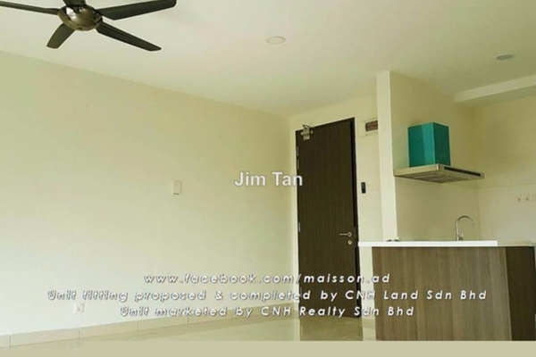 For Rent SoHo/Studio at Maisson, Ara Damansara Leasehold Semi Furnished 0R/1B 1.1k