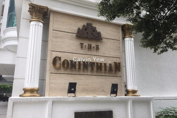 For Rent Condominium at Corinthian, KLCC Leasehold Semi Furnished 3R/2B 4.8k