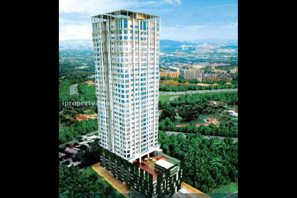 For Rent Apartment at Sixceylon, Bukit Ceylon Leasehold Semi Furnished 3R/2B 4.8k