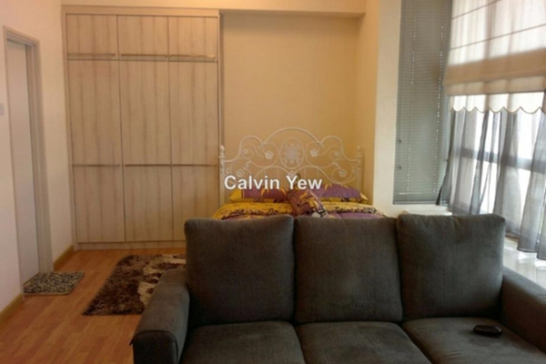For Rent SoHo/Studio at Park View, KLCC Freehold Semi Furnished 0R/1B 2.2k