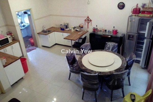 For Rent Terrace at Jalil Sutera, Bukit Jalil Leasehold Semi Furnished 5R/4B 3k