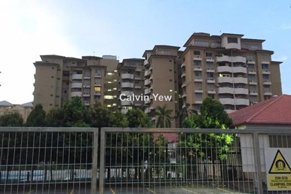 For Rent Condominium at Sri Desa, Kuchai Lama Freehold Semi Furnished 3R/2B 1.2k
