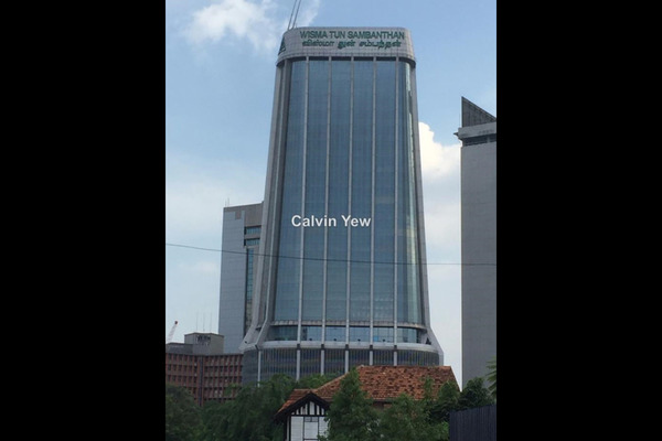 For Rent Office at Kampung Attap, Brickfields Leasehold Unfurnished 0R/0B 8.8k