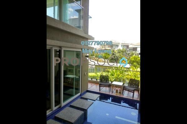 For Sale Semi-Detached at The Rafflesia, Damansara Perdana Leasehold Fully Furnished 4R/5B 4.5m