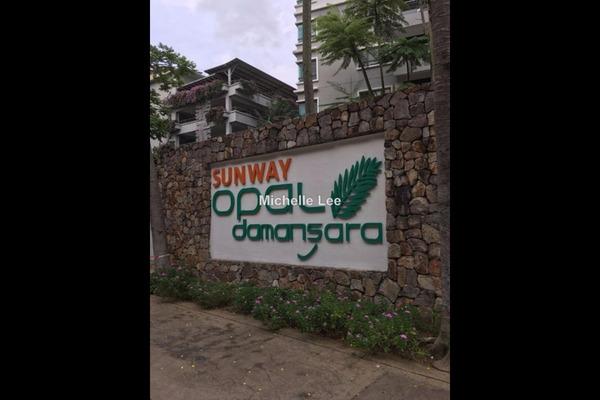 For Rent Condominium at Opal Damansara, Sunway Damansara Leasehold Semi Furnished 2R/2B 2.2k