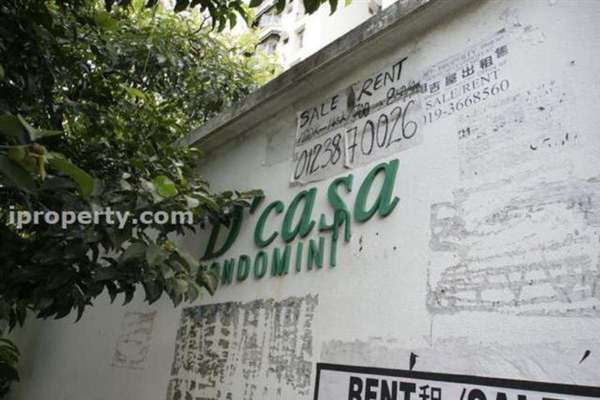 For Sale Condominium at D'casa Condominium, Ampang Leasehold Semi Furnished 3R/2B 370k