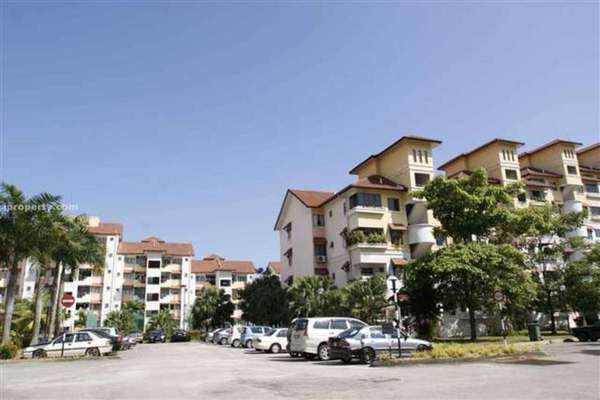 For Sale Condominium at Anjung Villa, Sentul Leasehold Unfurnished 3R/2B 570k