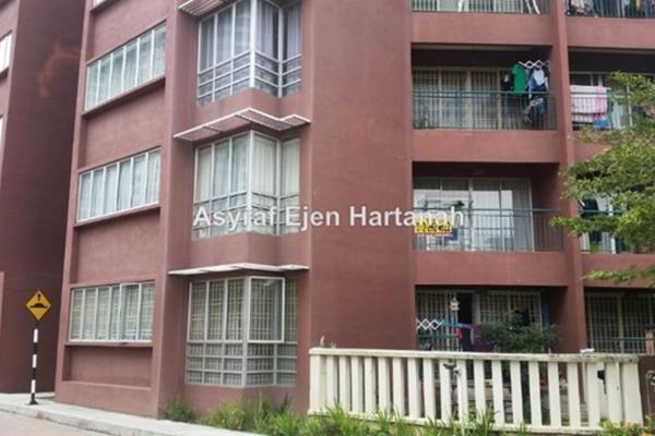 For Sale Condominium at Villa Wangsamas, Wangsa Maju Leasehold Semi Furnished 3R/3B 520k