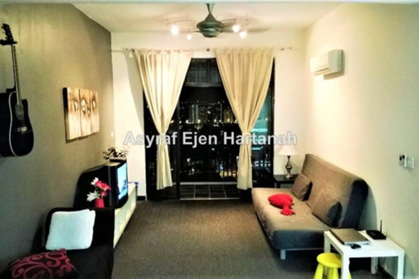 For Rent Condominium at Diamond Residences, Setapak Leasehold Fully Furnished 4R/2B 2k