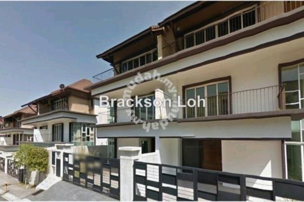 For Sale Semi-Detached at Nusa Tropika, Ukay Freehold Semi Furnished 6R/6B 2.4m