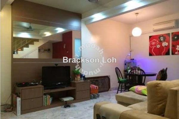 For Sale Terrace at Taman Wangsa Melawati, Wangsa Maju Leasehold Semi Furnished 4R/2B 630k