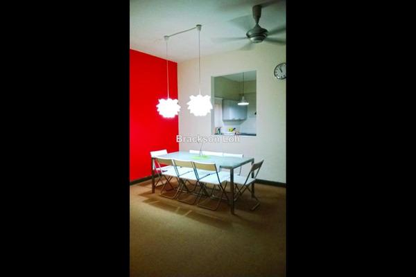 For Sale Condominium at Diamond Residences, Setapak Leasehold Semi Furnished 3R/2B 480k