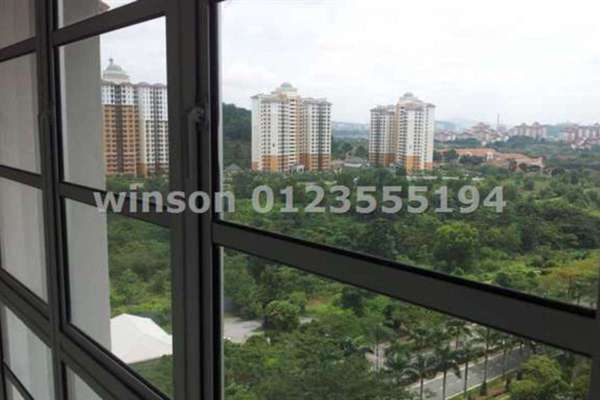 For Rent Condominium at Saujana Aster, Putrajaya Freehold Semi Furnished 3R/2B 1.5k