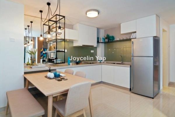 For Rent Condominium at Dex @ Kiara East, Jalan Ipoh Leasehold Semi Furnished 2R/1B 1.8k