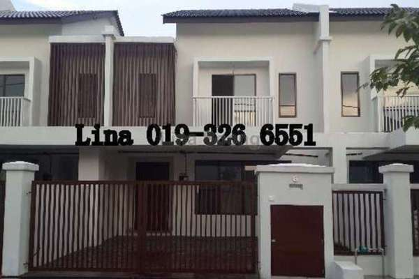 For Sale Terrace at Azalea Homes, Rawang Freehold Semi Furnished 4R/3B 600k