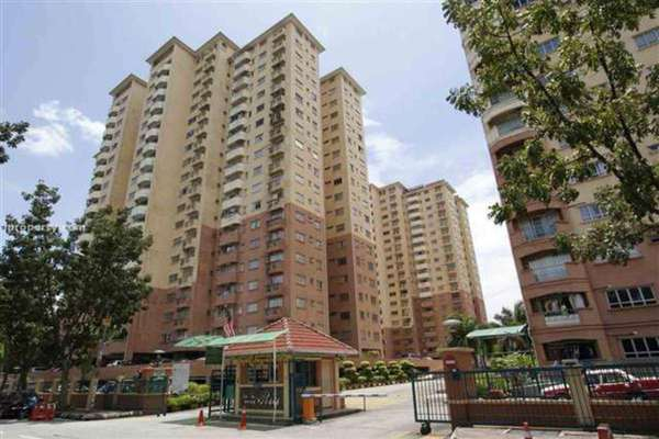 For Rent Condominium at Endah Ria, Sri Petaling Leasehold Unfurnished 4R/2B 1.8k