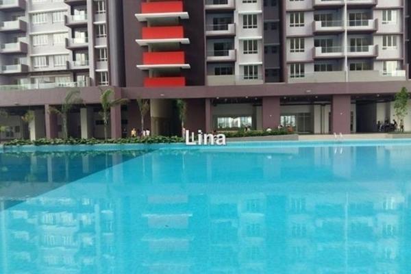 For Rent Condominium at Platinum Lake PV21, Setapak  Semi Furnished 3R/2B 1.2k