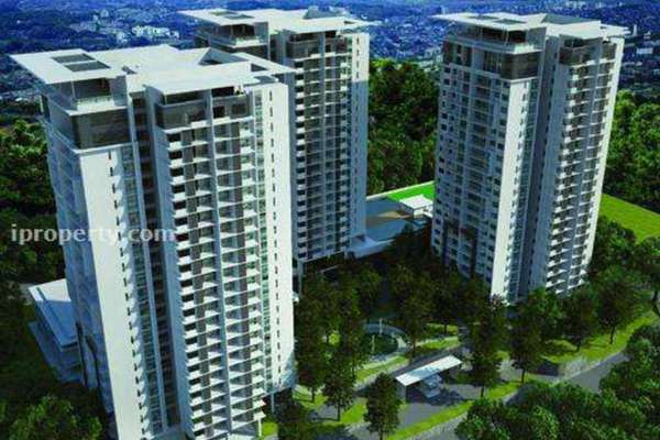 For Sale Condominium at Gembira Residen, Kuchai Lama Leasehold Semi Furnished 3R/2B 729k