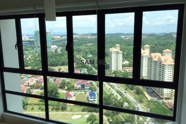 For Sale Condominium at KM1, Bukit Jalil Leasehold Semi Furnished 3R/3B 870k