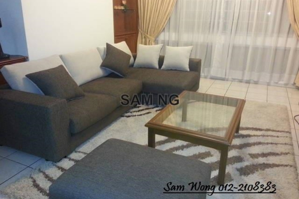 For Rent Condominium at Rhythm Avenue, UEP Subang Jaya Leasehold Semi Furnished 2R/1B 1k