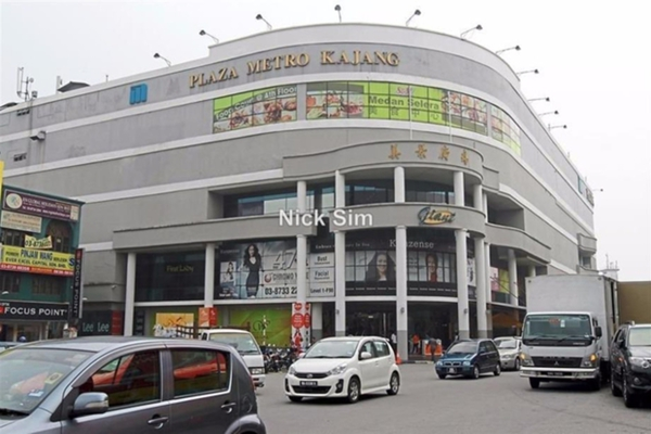 For Rent Shop at Taman Kajang Sentral, Kajang Leasehold Unfurnished 0R/0B 6.5k